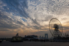 The Ferris wheel at Suzhou,China Stock Image