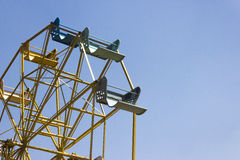 Ferris Wheel in Tailandia Fotografia Stock Libera da Diritti