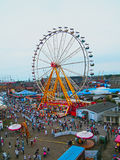 Ferris Wheel from The Tall Ship Races 2013 in Szczecin. Stock Photos
