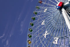Ferris Wheel in Texas. Ferris wheel at the Texas State Fair in Dallas TX Stock Photo