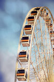 Ferris wheel with texture of dreamy feel Royalty Free Stock Photos