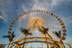 Ferris wheel. In Thailand and blue sky Royalty Free Stock Photography