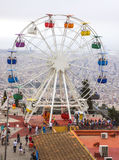 Ferris wheel in Tibidabo Stock Photos