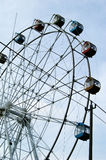 The ferris wheel. To the ferris wheel is the most common situations is an amusement park or the theme park and garden party, as a kind of playground mobile games Royalty Free Stock Photography