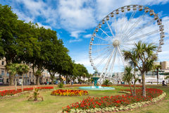 Ferris Wheel ,Torquay, Devon Royalty Free Stock Image
