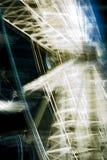 Ferris Wheel - tournant autour la nuit photo libre de droits