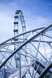 Ferris wheel, travel vivid theme Stock Images