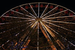 Ferris Wheel between the trees Royalty Free Stock Images