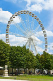 Ferris Wheel at the Tuileries Garden, Paris Stock Photography