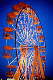 Ferris wheel in twilight Royalty Free Stock Photography