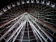Ferris wheel in Ukrainian capital stock images