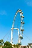 Ferris wheel under blue sky Royalty Free Stock Photo