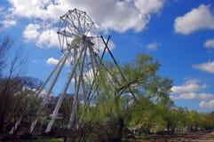 Ferris wheel under construction Royalty Free Stock Photography