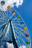 Ferris Wheel. Vertical Stock Image