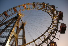 Ferris wheel in Vienna Stock Image
