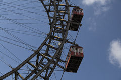 Ferris wheel in Vienna Royalty Free Stock Images