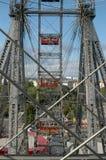 The Ferris wheel in Vienna, Austria Stock Photography