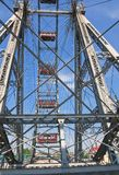 Ferris Wheel vienna l'austria Fotografia Stock Libera da Diritti