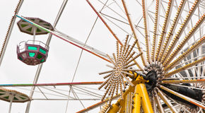Ferris wheel. View of the famous ferris wheel in Germany Stock Image