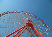 Ferris Wheel. View of the ferris wheel in the park Royalty Free Stock Image