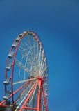 Ferris wheel. View of the ferris wheel in the park Stock Photography