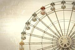 Ferris wheel in vintage style Royalty Free Stock Photos