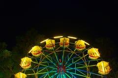 Ferris wheel wallpaper Stock Image