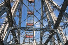 Ferris Wheel wenen oostenrijk Stock Fotografie