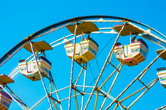 Ferris Wheel. What a great day to ride a ferris wheel Royalty Free Stock Photography