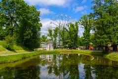 Ferris Wheel Youth Recreation Park Royalty Free Stock Photo