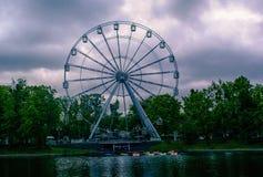 Ferris Wheel Youth Recreation Park Royalty Free Stock Image