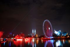 Ferris wheels Royalty Free Stock Photo