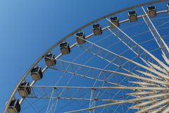 Ferris wheels with blue sky. Ferris wheels  at Asiatique the riv Royalty Free Stock Images