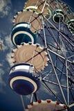 Ferris wheel's cabins Royalty Free Stock Photo