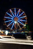 Ferris wheels at night Royalty Free Stock Image