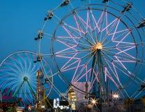 Ferris Wheels Stock Photo
