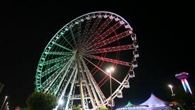 Ferris Whell в Абу-Даби видеоматериал