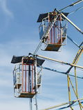 Ferris whell cages Stock Photo