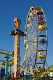 ferrismonica santa hjul Royaltyfri Bild