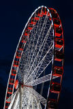 Ferriss wheel at night Royalty Free Stock Photography