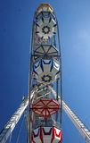 Ferriswheel. At a local fair seen from below Stock Photos