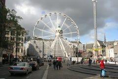 Ferriswheel in Amsterdam Royalty Free Stock Photos