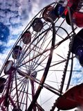 Ferriswheel. Ferris Wheel at amusement park Stock Photo