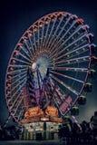Ferriswheel at Night Royalty Free Stock Images