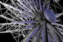 Ferriswiel van de nacht Stock Fotografie