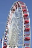 Ferriswiel van de Pijler van de marine royalty-vrije stock foto's
