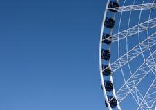 Ferriswiel van Gdansk Royalty-vrije Stock Foto's