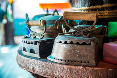 Ferro antico Fotografia Stock Libera da Diritti