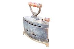 Ferro antico isolato Fotografia Stock Libera da Diritti