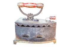 Ferro antico isolato Fotografia Stock